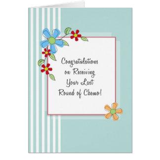 Ronda del último de la tarjeta de la enhorabuena d