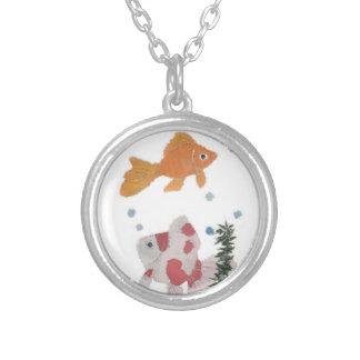 Ronda pendiente de plata del Goldfish formada