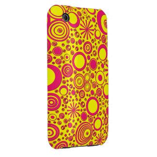 Rondas caja Rosado-Amarilla del iPhone 3G 3Gs
