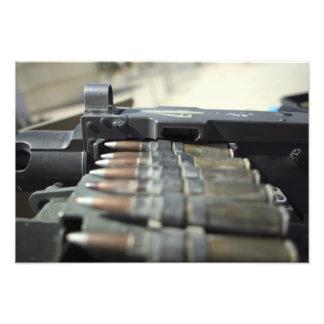 rondas de la ametralladora del Cincuenta-calibre Fotos