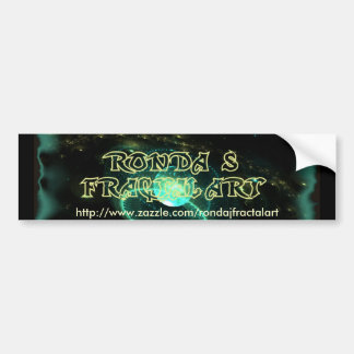 Ronda's Fractal Art Bumper Sticker