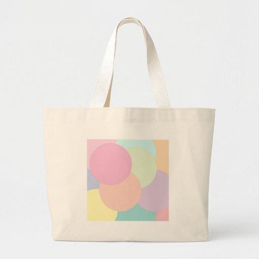 Rondas frescas bolsa lienzo