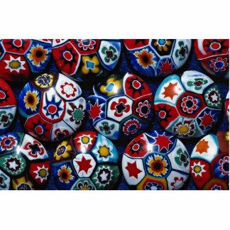 Rondas multicoloras escultura fotografica