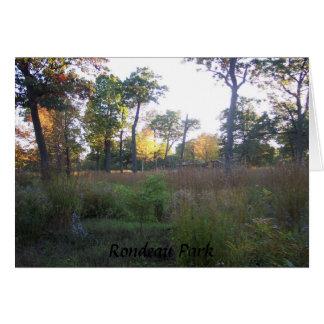Rondeau Park Card