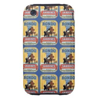 Rondo Sardines iPhone 3 Tough Cases