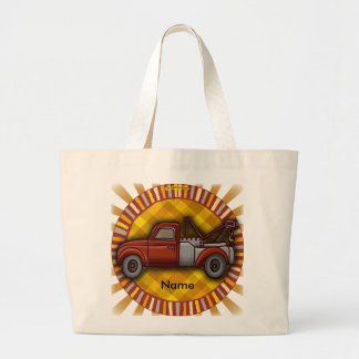 Rondo Tow Truck Large Tote Bag