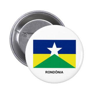 Rondônia, bandera del Brasil Pins