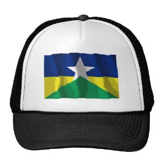 Rondônia, bandera que agita del Brasil Gorras De Camionero