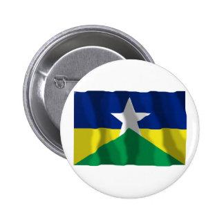 Rondônia, bandera que agita del Brasil Pin