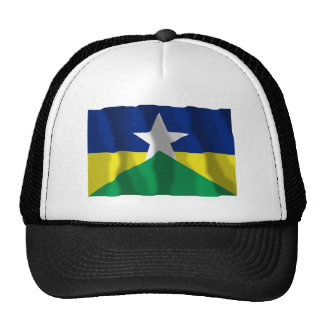 Rondônia, Brazil Waving Flag Trucker Hat