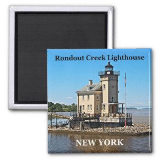 Rondout Creek Lighthouse, New York Magnet