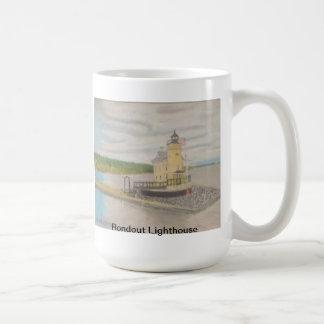 Rondout Lighthouse - Kingston, NY Coffee Mug
