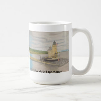 Rondout Lighthouse - Kingston, NY Classic White Coffee Mug
