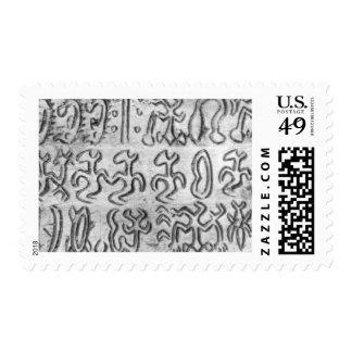 rongo rongo postage stamp