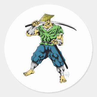 Ronin Classic Round Sticker