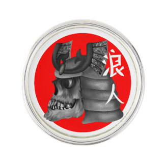 Ronin Samurai Warrior Pin