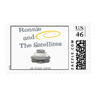 Ronnie and The Satellites Postage Stamp