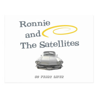 Ronnie and The Satellites Postcard