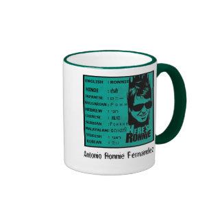 ronnie fernandez, Antonio Ronnie Fernandez Coffee Mug