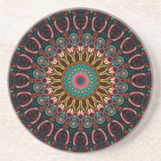 Ronnie Kaleidoscope Drink Coaster