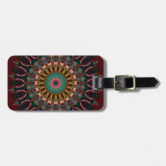 Ronnie Kaleidoscope Travel Bag Tags