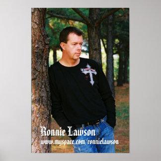 Ronnie Lawson Poster