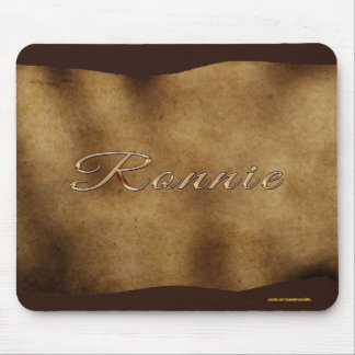 RONNIE Personalised Parchment-effect Mousemat Mouse Pad