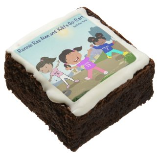 Ronnie Ree Ree and Kiki's Go Cart Brownies Square Brownie
