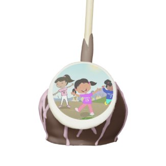 Ronnie Ree Ree and Kiki's Go Cart Cake Pop Cake Pops