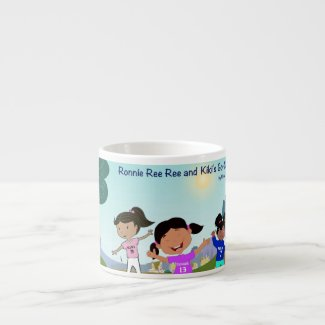 Ronnie Ree Ree and Kiki's Go Cart Mug for Kids 6 Oz Cup