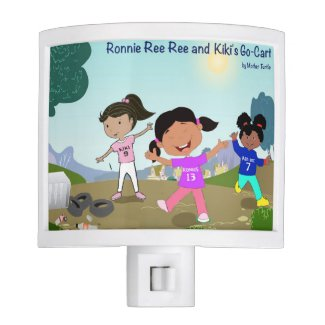 Ronnie Ree Ree and Kiki's Go Cart Night Light