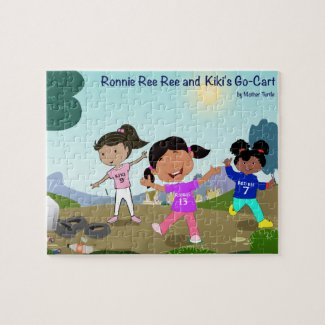 Ronnie Ree Ree and Kiki's Go Cart Puzzle