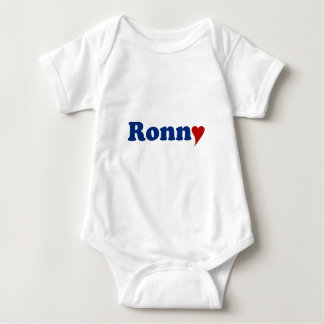 Ronny with Heart Baby Bodysuit