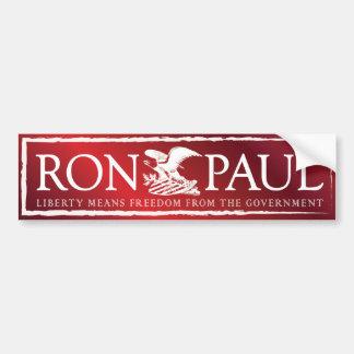 RonPaul2012 Etiqueta De Parachoque