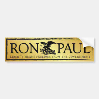 RonPaul2012 Pegatina Para Auto