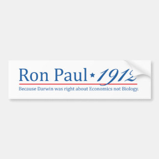 RonPaul 1912 Bumper Stickers