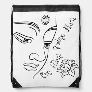 Ronquido de Buda Lotus OM Mani Padme Mochila