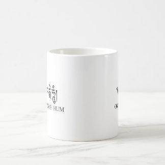 Ronquido de OM Mani Padme Taza De Café