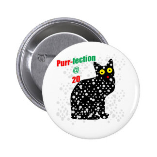Ronroneo-fection del gato de la nieve 20 pin redondo de 2 pulgadas