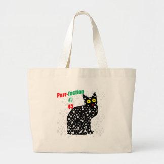 Ronroneo-fection del gato de la nieve 45 bolsas
