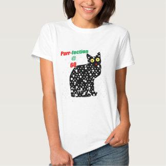 Ronroneo-fection del gato de la nieve 60 remeras