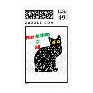Ronroneo-fection del gato de la nieve 80 sello