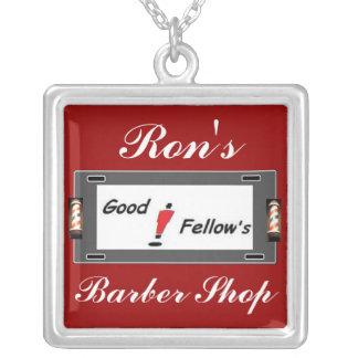 Rons Barber Shop Necklace