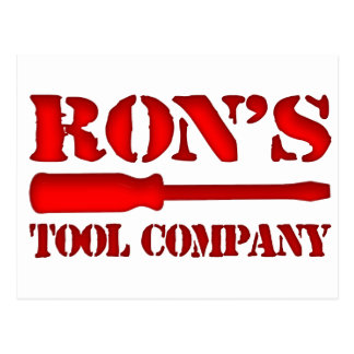 Ron's Tool Company Postcard