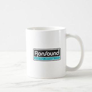 RonSound double logo mug
