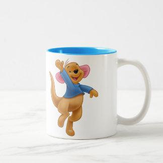 Roo 1 taza de café de dos colores