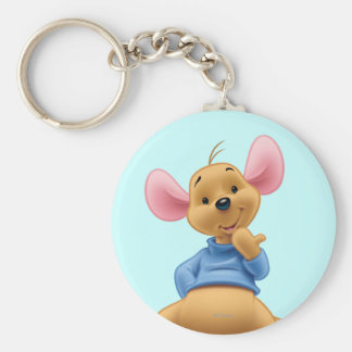 Roo 2 basic round button keychain