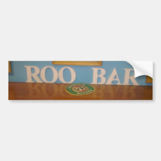 roo bar bumper sticker