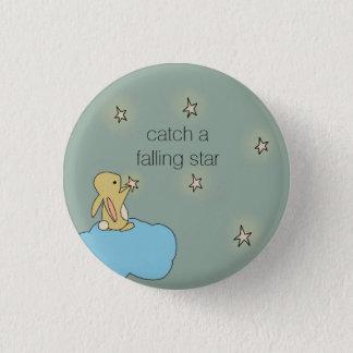 Roo Bunny - Falling Star Pinback Button