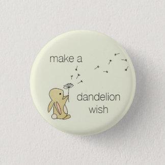 Roo Bunny - Make a Dandelion Wish Button